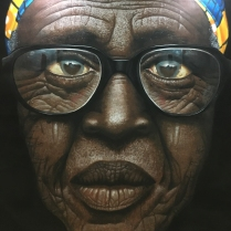Babajide Olatunji's 'Tribal Mark Series IV'