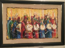 Traditional Drummers Ensemble by Kunle Adeyemi